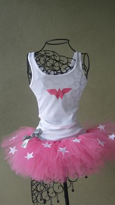 Pink Wonder Woman Tutu Costume