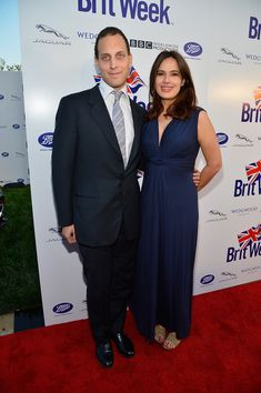 4-23-13      4 month pregnant Sophie Winkleman and her husband Lord Frederick Windsor A Salute To Old Hollywood Red Carpet
