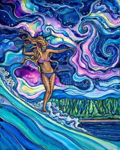 Colleen Wilcox Cosmic Surf