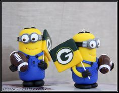 Green Bay Packers minions fans by danielahandmade on Etsy