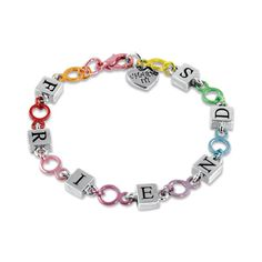 Shop CHARM IT! - Friends Link Bracelet, $12.00 (http://www.shopcharm-it.com/bracelets/friends-link-bracelet/)