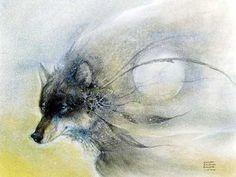 Wolf Wind (1994) by Susan Seddon Boulet WILD WOMAN SISTERHOOD™