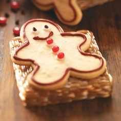 Scrumptious Sugar Cookies Recipe from Taste of Home - shared by Nancy Gribble of Fort Wayne, Indiana