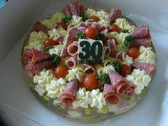 aspikový dort 30th