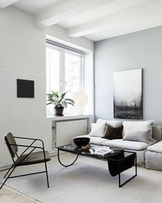 Home With Blue Grey Accents