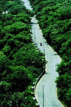 Road To Margalla Hills, Islamabad