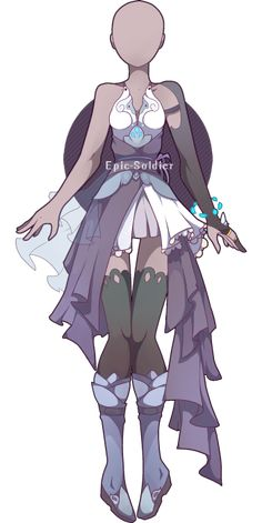 Outfit adoptable 33 (CLOSED!) by Epic-Soldier.deviantart.com on @DeviantArt