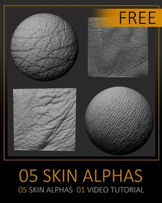 Free Pack Human Skin Alphas by Celito Moura Filho CELITO MOURA FILHO is a Freelance, Storyboarder, I