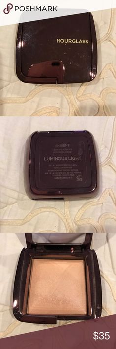Hourglass luminous light I just tested the color on me one time Makeup Luminizer