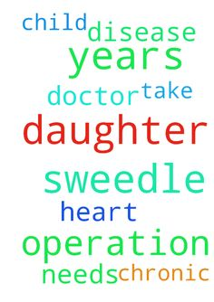 My daughter sweedle of 2 years she is - My daughter sweedle of 2 years she is having chronic heart disease but she needs operation please pray that the doctor take my child for operation. Posted at: https://prayerrequest.com/t/ouX #pray #prayer #request #prayerrequest