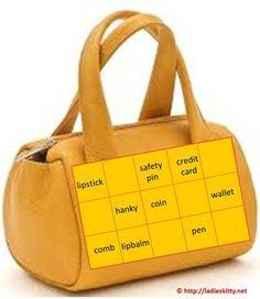 Handbag Tambola Game