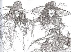 Vampire Hunter D: Bloodlust (2000) - Production Drawings & Model Sheets