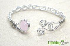 Wrap bracelet into bangle