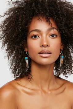 Shop our Shell Tusk Turquoise Cluster Earrings at Free People.com. Share style pics with FP Me, and read & post reviews. Free shipping worldwide - see site for details.