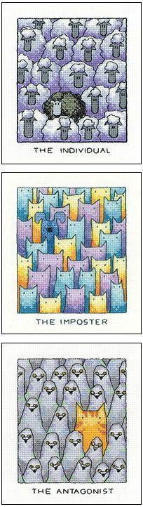 Fun cross stitch kits!