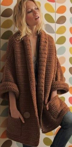 Crochet sweater ♥️LCT-MRS♥️ with diagrams, simple double crochet all the.:separator:Crochet sweater ♥️LCT-MRS♥️ with diagrams, simple double crochet all the. Crochet Cardigan Pattern, Crochet Jacket, Crochet Poncho, Crochet Beanie, Crochet Sweaters, Crochet Shrugs, Baby Cardigan, Sweater Jacket, Sweater Coats