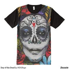 Day of the Dead All-Over Print Shirt