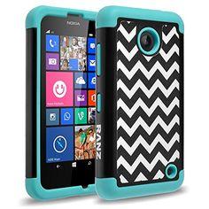 Nokia lumia 635, Nokia lumia 630 Case, RANZ® Wave Pattern Print Desgin Impact Dual Layer Shockproof Bumper Hard Case Cover For Nokia Lumia 635 / 630 with Touch Stylus (Mint) RANZ http://www.amazon.com/dp/B00TEWE5PQ/ref=cm_sw_r_pi_dp_4fM0vb1NBX6MC