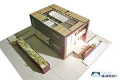 Habitat du futur - Solar Decathlon 2014 - La Maison Reciprocuty réinvente le concept des maisons en bande © Team Réciprocité