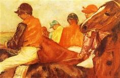 Jockeys - Edgar Degas
