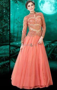 Salwar Gown Kameez Anarkali New Designer Indian Ethnic Pakistani Bollywood Dress New Pakistani Dresses, Indian Gowns, Designer Gowns, Designer Wedding Dresses, Lehenga Choli, Anarkali, Indian Ladies Dress, Party Wear Gowns Online, Bollywood Dress