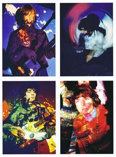 Pink Floyd UFO photos by Andrew Whittuck (from Nick Mason's book Inside Out)