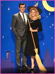 Modern Family cast as Bewitched