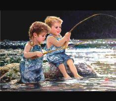 Grand Funk Railroad, Number Drawing, Fishing Kit, 5d Diamond Painting, Children Images, Diamond Art, Drawing Skills, Second Child, Paint By Number