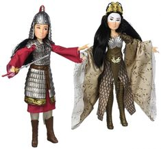 First images: Disney Mulan live action movie 2020 doll set Mulan & Xianniang from Hasbro New Disney Movies, Disney Live, Live Action Movie, Action Movies, Mulan Doll, Watch Mulan, Warrior Outfit, Great Warriors, Witch Outfit