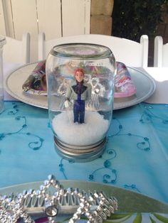 Disney Frozen  Party Decorations!  See more party ideas at CatchMyParty.com!