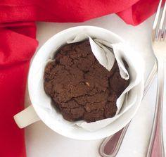 chocolate peanut butter protein mug cake