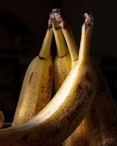 Banana Fruit Still Life Photograph Moody Abstract by MollysMuses