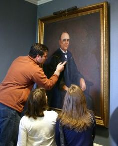 Professor Alexander Lee Bondurant, joined the University of Mississippi faculty in 1889 and succeeded to the Chair of Latin in 1893.  Members of the art department recently restored his portrait.
