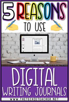 Learn about how you can incorporate digital writing journals in your classroom! Whether you are a 1:1 classroom or have access to just a few Chromebooks, laptops, or computers, digital writing journals will prepare your students to be thoughtful and expressive writers while saving time and paper. Come learn 5 reasons why you should use Google Slides as a writing journal.