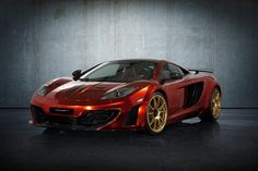Not to be outdone by Hamann with memoR and Wheelsandmore with Toxique Evil, Mansory is also presents a modification for McLaren MP4-12C model in 2012 Geneva Motor Show