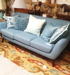 Living Area, Living Room Decor, Building Foundation, Homesense, Sofa, Couch, Upholstered Chairs, Spring Style, Home Accents