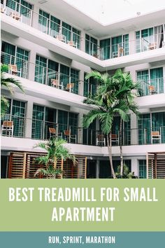 Most people who live in apartments assume that a treadmill is not really an option. Believing that it would take up too much space, and perhaps be too loud (with upstairs and downstairs neighbours to consider). In this article, we will be taking a look at five small apartment size treadmills, helping you to identify the best treadmill for small apartment or small spaces. Small Apartments, Small Spaces, Marathon, Best Treadmill For Home, Good Treadmills, Live, People, Small Flats, Tiny Apartments