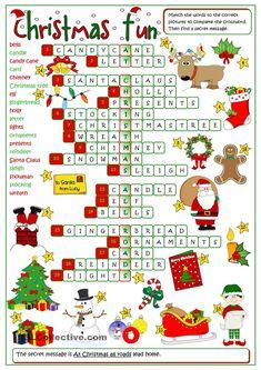 Christmas fun - crossword