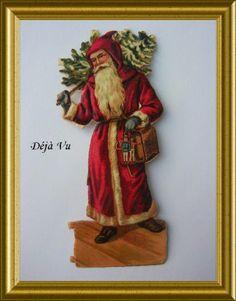 Victorian die cut, Santa Claus, € 5. www.dejavu.marktplaza.nl