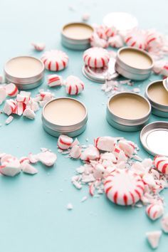 You can make Peppermint Lip Balm to stay hydrated during the holidays and winter with this easy beauty DIY tutorial.