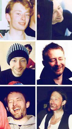 Mmm rare Thom smiles