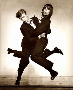 David Bowie & Iggy Pop, Circa 80's ➰