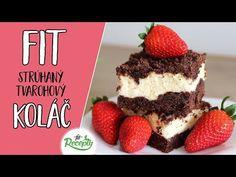 Ak hľadáte recept na zdravý koláč s tvarohom a kakaovým cestom, určite skúste tento dokonalý fit strúhaný tvarohový koláč. Získa si vás svojou jedinečnou chuťou, vysokým obsahom... Tiramisu, Health And Beauty, Goodies, Food And Drink, Tasty, Baking, Ethnic Recipes, Sweet, Diabetes