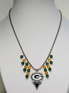 e37e341f0b398 18 Best Greenbay packers homemade jewelry images in 2016 | Greenbay ...