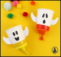 Pequenos Grandes Pensantes.: Fantasminhas para o Halloween