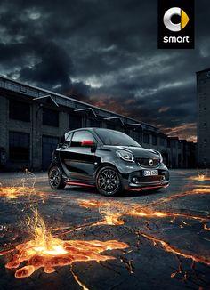 Sondermodell smart BRABUS edition urbanlava - Werner Unternehmensgruppe Pkw - Mercedes-Benz, smart, Kia, Škoda, Saab