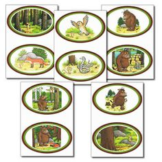 Free The Gruffalo including Sequencing Cards and a pair match Activities For Kindergarten Children, Gruffalo Activities, Gruffalo Party, The Gruffalo, Book Activities, Preschool Projects, Preschool Books, Preschool Learning, Teaching Resources