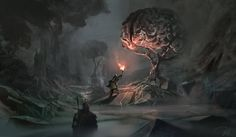 Sentient Trees by Denis Loebner