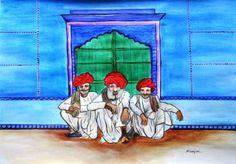 Rajasthani Men-Vishranti