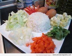 Ricetta Khao Pad mang sa virad , Vegetarian Fried Rice , o riso saltato con verdure - http://www.provarciegratis.com/cucina-thailandese/ricette-cucina-thai/khao-pad/ - by  Pier Sottojox -  #cucinathai #friedrice #KhaoPad #KhaoPadmangsavirad #piattithaivegetariani